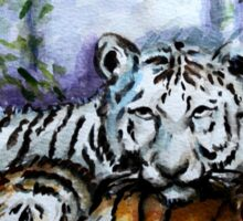 Tigers! Mother and Child Sticker