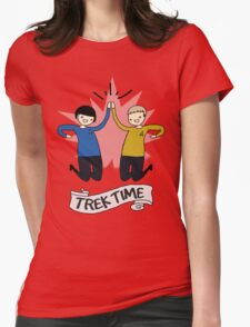 Trek Time Womens Fitted T-Shirt