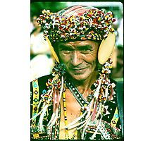 A Samal Moro, Philippine Moslem. Photographic Print