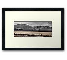 Desert Power Framed Print