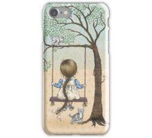 la la la swing la la la iPhone Case/Skin