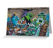 Wicked Green Witch Greeting Card