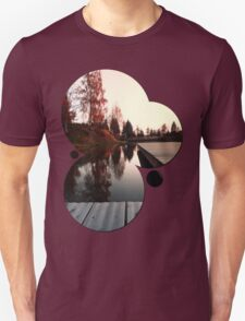 Romantic evening at the lake IV | waterscape photography T-Shirt
