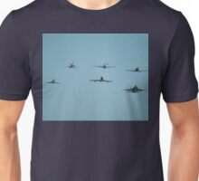 Fighter Formation, RAAF Williamtown 2010 Unisex T-Shirt