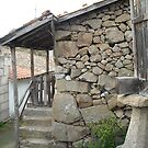 Old country stone house from Galicia by darioalvarez
