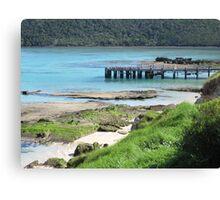 Lord Howe Island Jetty Canvas Print