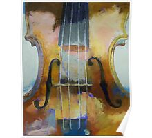 Violin Painting Poster