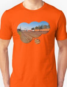 Summerau railway station | architectural photography T-Shirt