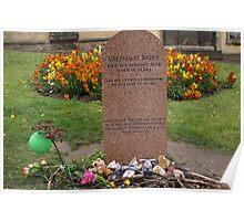 Greyfriars Bobby's Grave, Edinburgh Poster