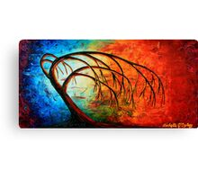 Reaching for Mother Earth Canvas Print