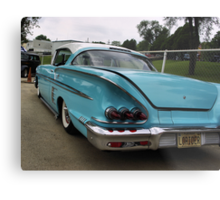1958 Chevrolet Impala Low Rider Metal Print