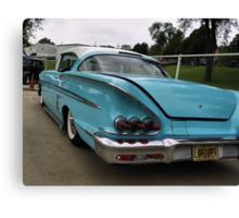 1958 Chevrolet Impala Low Rider Canvas Print