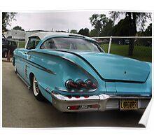 1958 Chevrolet Impala Low Rider Poster