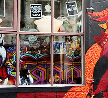 Self Portrait,Hosier Lane Melbourne by Rosina  Lamberti