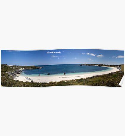 Rottnest panorama Poster