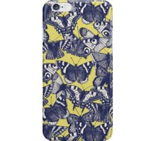 butterfly yellow iPhone Case/Skin