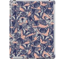 butterfly pale coral iPad Case/Skin