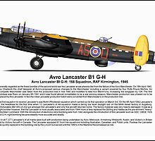 Avro Lancaster B1 G-H Profile by coldwarwarrior