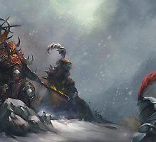 Blood knight by SpyrosK
