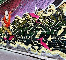 Hosier lane,Melbourne by Rosina  Lamberti