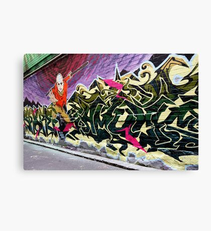 Hosier lane,Melbourne Canvas Print