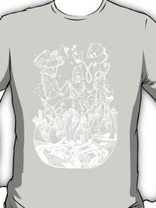 White robots T-Shirt
