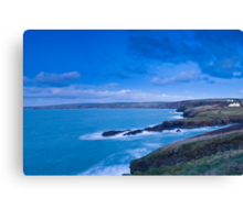 Port Gaverne  Canvas Print