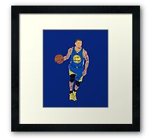 2015 NBA Finals Typography - Golden State Warriors Framed Print