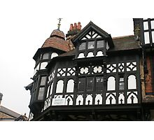 Chester, UK, half-timbered magnificence Photographic Print