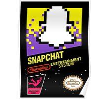 NES Snapchat Poster