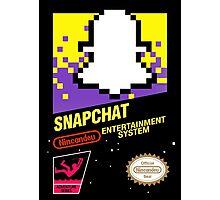 NES Snapchat Photographic Print
