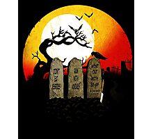 Graveyard Confession Photographic Print