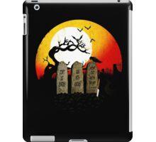 Graveyard Confession iPad Case/Skin