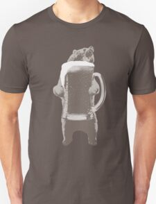 Funny Grizzly Bear & Giant Beer T-Shirt