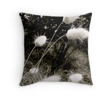 'Cat Tails' Throw Pillow