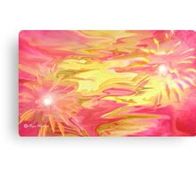 Love is your color- Abstract  Art + Products Design  Canvas Print
