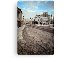 Bungay on a Saturday Canvas Print
