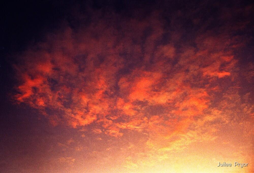heaven's gate in the morning by Juilee  Pryor