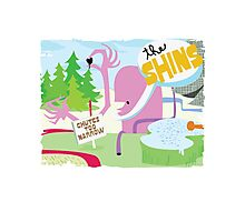 The Shins Monster View Photographic Print