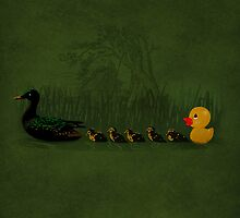 Rubber Duckling by dEMOnyo