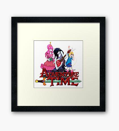 Adventure Rock Framed Print