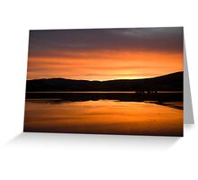 Irish Sunrise 2010 - 3 Greeting Card