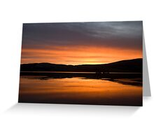 Irish Sunrise 2010 Greeting Card