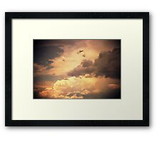 heaven's gate in the afternoon Framed Print