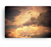 heaven's gate in the afternoon Canvas Print