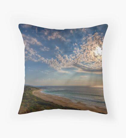 Sky rays Throw Pillow
