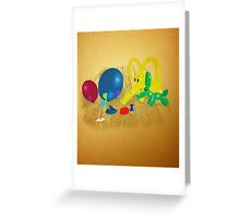 VOTE WISELY Greeting Card