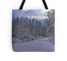 Winters Walk Tote Bag