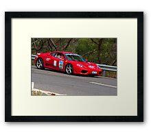 F1 Framed Print
