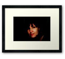 Darkness © Vicki Ferrari Photography Framed Print